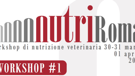nutriRoma - Workshop di nutrizione veterinaria